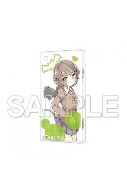 CharaClear Seishun Buta Yarou Series Acrylic Keychain TOMOE KOGA
