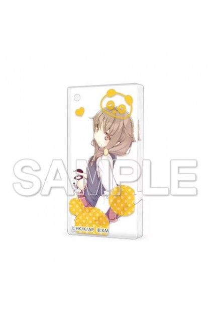 CharaClear Seishun Buta Yarou Series Acrylic Keychain KAEDE AZUSAGAWA