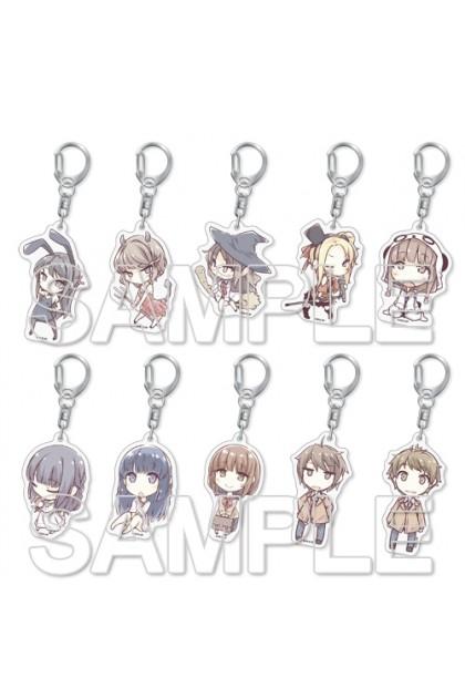 Seishun Buta Yarou Trading Acrylic Keychain (Blind Pack)