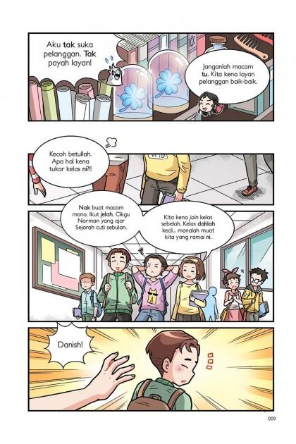 Siri Kedai Magis 02: Jangan Tinggalkan Aku!!!