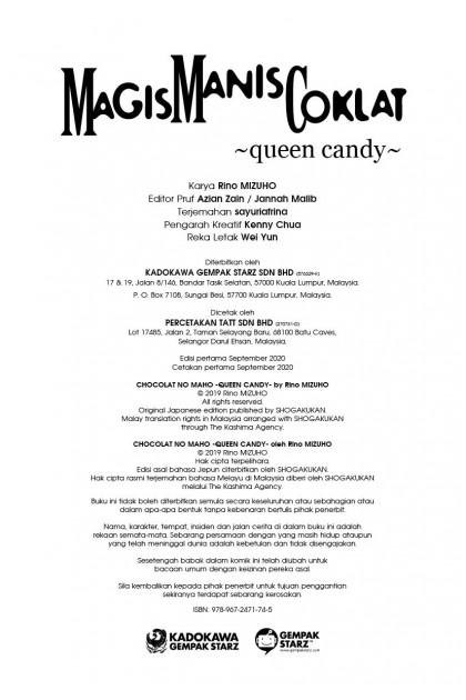 Magis Manis Coklat: Queen Candy