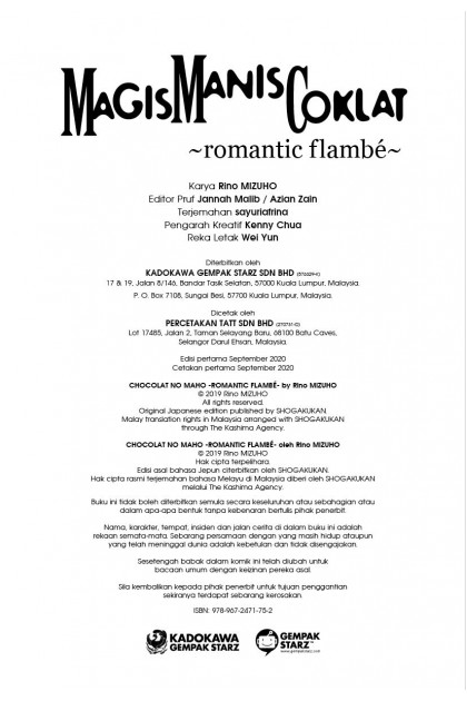 Magis Manis Coklat: Romantic Flambe