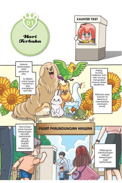 Siri Candy 43: Jangan Sakiti Kami!: Topik: Kebajikan Haiwan