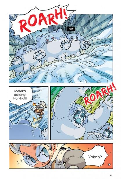 X-VENTURE Kronikal Naga II 01: Pembela Unggul • Griffin