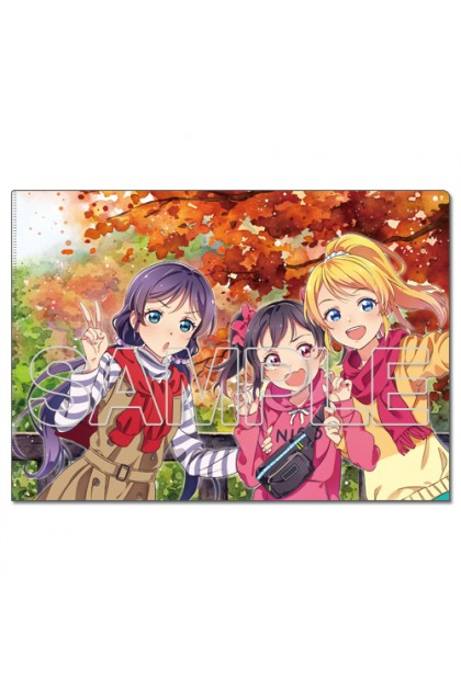 LoveLive! Clear File Holder μ's the 3rd Graders [2]