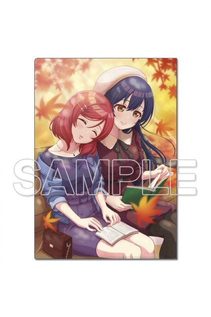 LoveLive! Clear File Holder μ's Umi & Maki