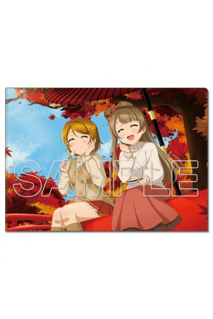 LoveLive! Clear File Holder μ's Kotori & Hanayo
