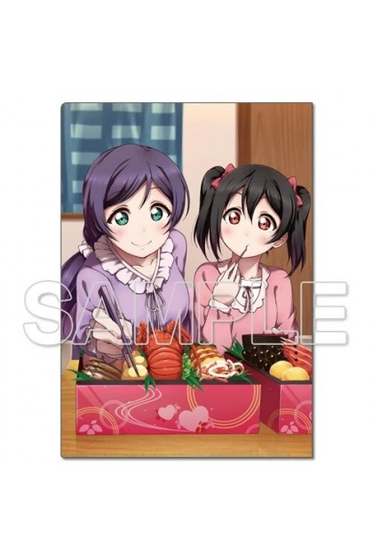 LoveLive! Clear File Holder μ's Nozomi & Nico