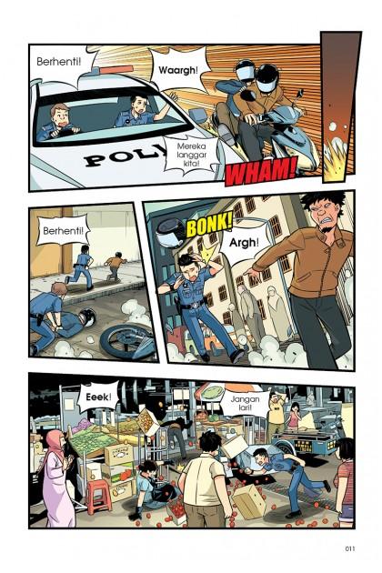 Siri Barisan Hadapan 01: Pasukan Peronda, Gerak!