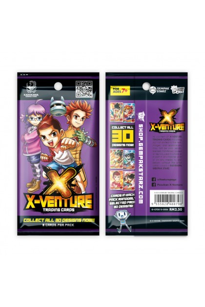 X-Venture Trading Cards
