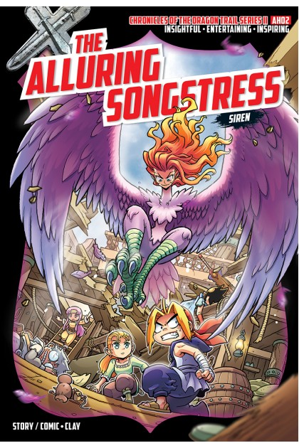 X-VENTURE Chronicles of the Dragon Trail II 02: The Alluring Songstress • Siren