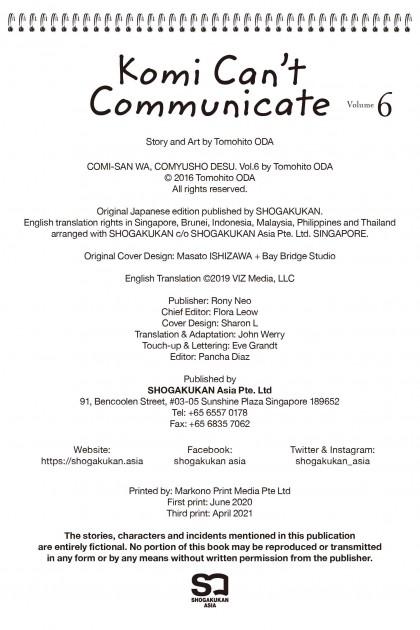 Komi Can't Communicate #6