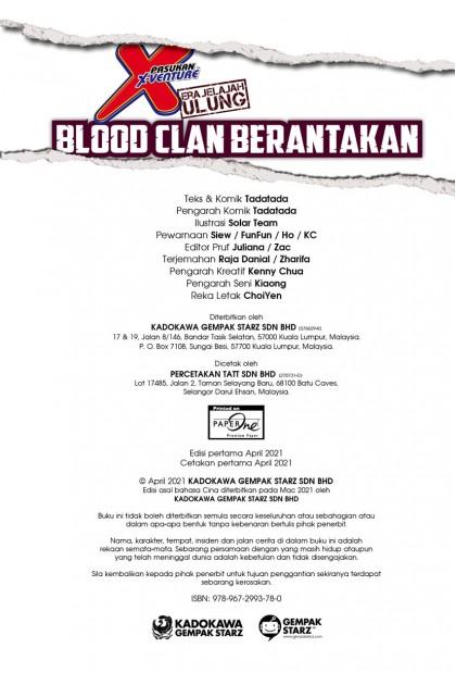Siri X-VENTURE Era Jelajah Ulung 35: Blood Clan Berantakan