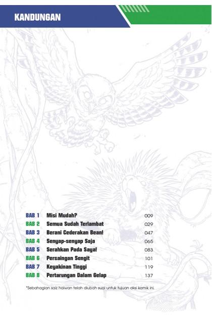X-VENTURE Dunia Haiwan III 02: Juang Hidupan Liar: Burung Hantu ‧ Landak
