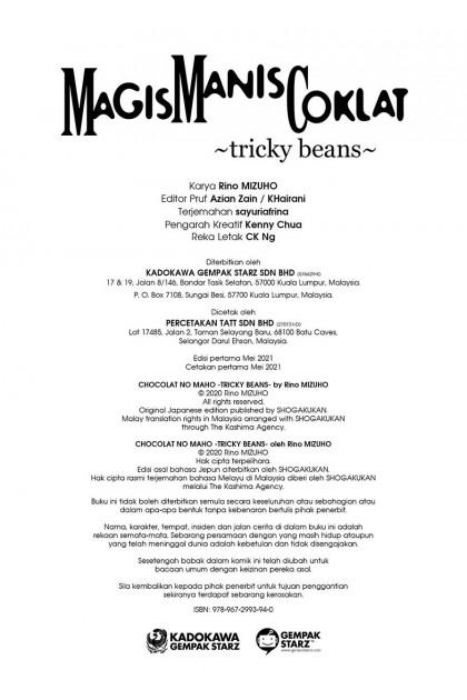 Magis Manis Coklat 22: Tricky Beans