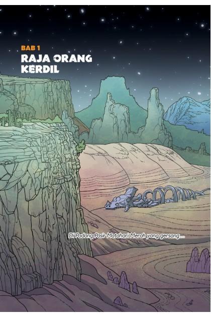 Penemuan Atu: Dunia Ingin Tahu Jilid 2: Kala Jengking Merah: Topik: Padang Pasir