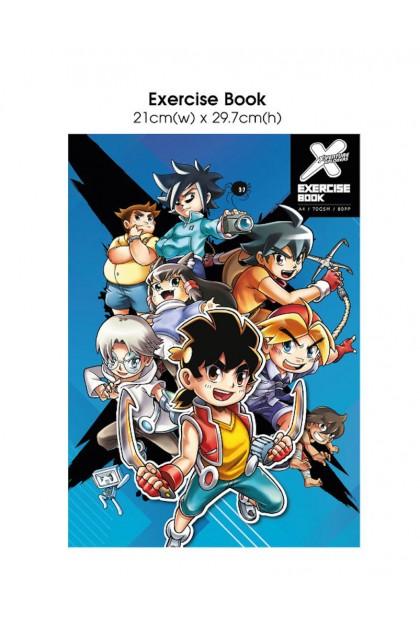 X-VENTURE A4 Exercise Book
