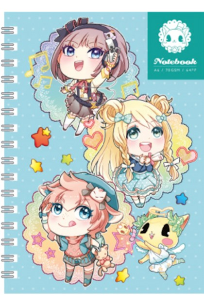 Candy Series A6 Note Book