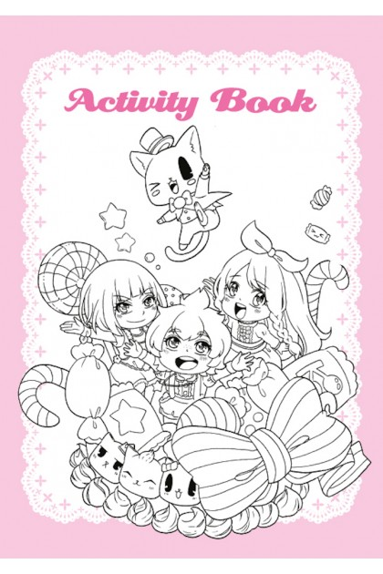Candy Series B5 Exercise Book