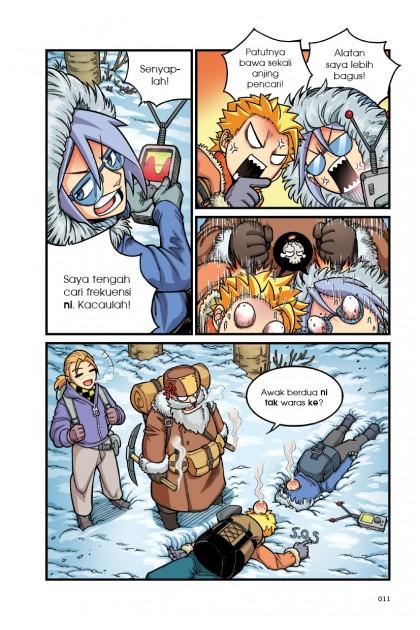 X-VENTURE Jejak Alam 02: Cabaran Hidup Siberia