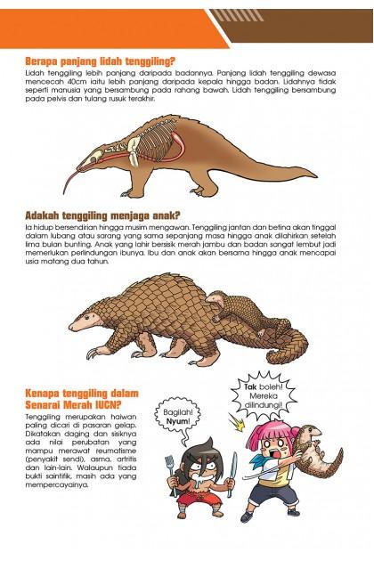 Siri X-VENTURE Dunia Haiwan III 03: Serangan Perisai: Tenggiling Sunda VS Orang Utan Sumatera