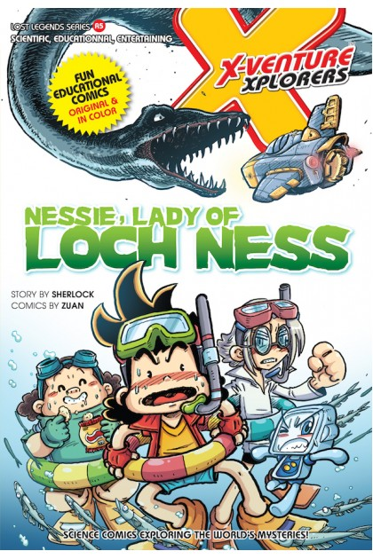 X-VENTURE Lost Legends Series 05: Nessie, Lady of Loch Ness