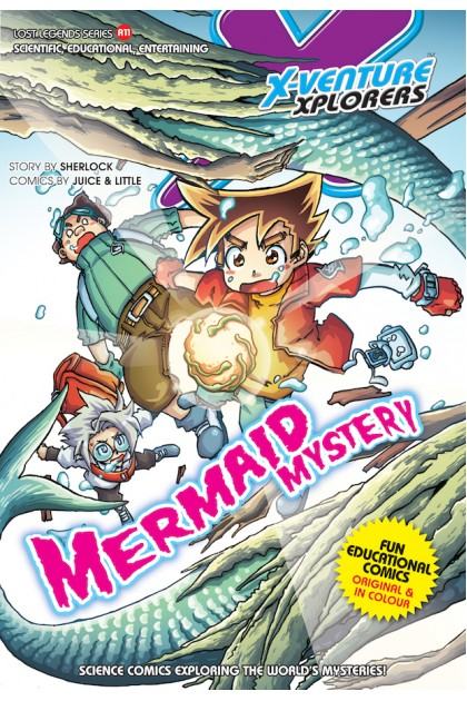 X-VENTURE Lost Legends Series 11: Mermaid Mystery