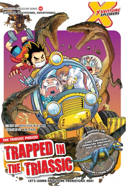 X-VENTURE Dinosaur Kingdom Series 04: Trapped In The Triassic