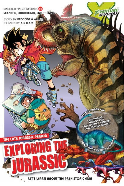 X-VENTURE Dinosaur Kingdom Series 06: Exploring The Jurassic