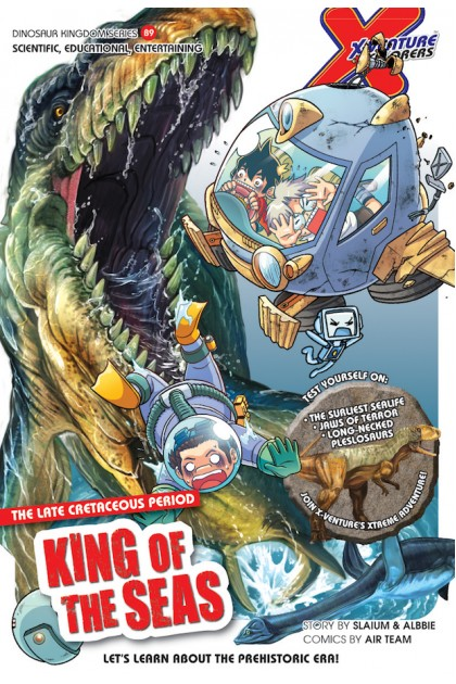 X-VENTURE Dinosaur Kingdom Series: King of The Seas