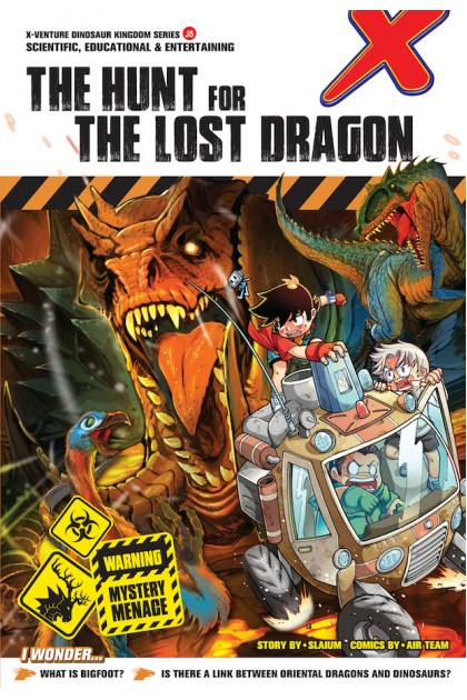 X-VENTURE Dinosaur Kingdom II Series 05: The Hunt for The Lost Dragon