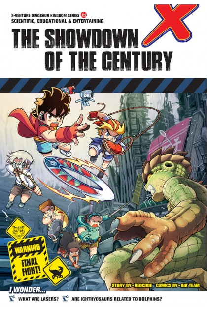 X-VENTURE Dinosaur Kingdom II Series 12: The Showdown of the Century