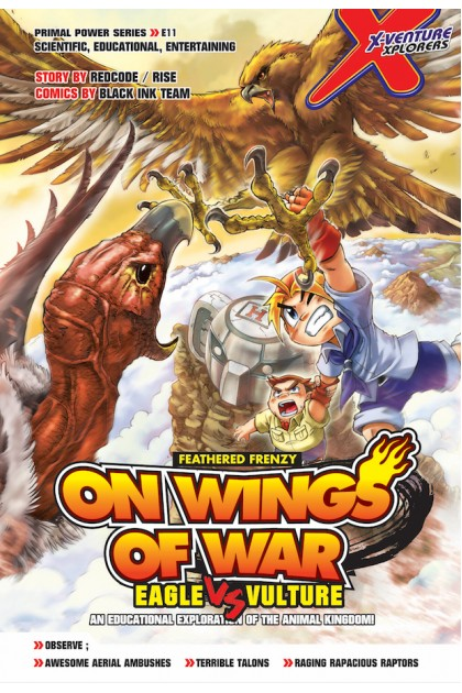 X-VENTURE Primal Power Series 11: On Wings of War