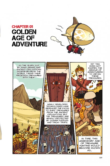 X-VENTURE The Golden Age of Adventures 01: Wrath of The Mummy