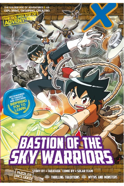 X-VENTURE The Golden Age of Adventures 08: Bastion of The Sky Warriors