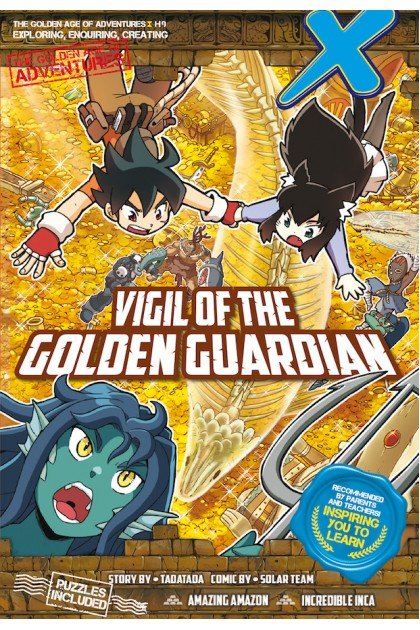 X-VENTURE The Golden Age of Adventures 09: Vigil of The Golden Guardian
